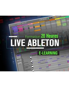 Formation Live Ableton Expert - 20 heures à distance