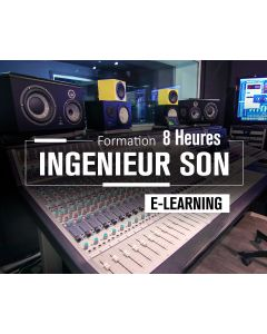 Ingénieur son E-Learning 8 Heures
