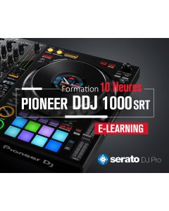 Formation Pioneer DDJ-1000 Serato Expert Pro - 10 heures à distance