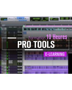 Formation Avid ProTools Mixage Expert - 10 heures à distance