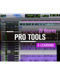 Formation Avid ProTools Mixage Expert - 20 heures à distance