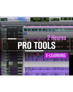 Formation Avid ProTools Mixage Expert - 02 heures à distance