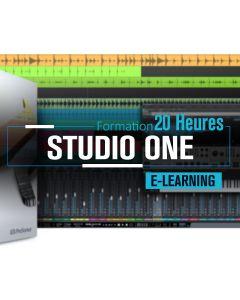 Formation Studio One - 20 heures à distance ou présentiel