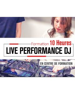 Cours Particuliers 10 Heures Live Performance - DJ