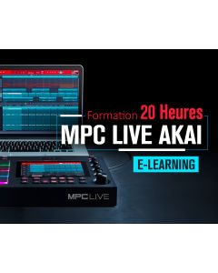 Formation MPC Live Akai E-Learning 20 heures