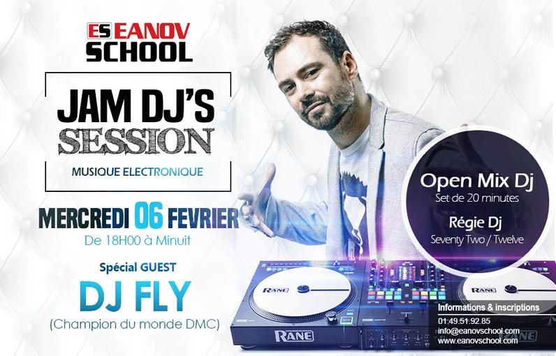 Jam Dj's Session - Musique Electronique /  DJ FLY