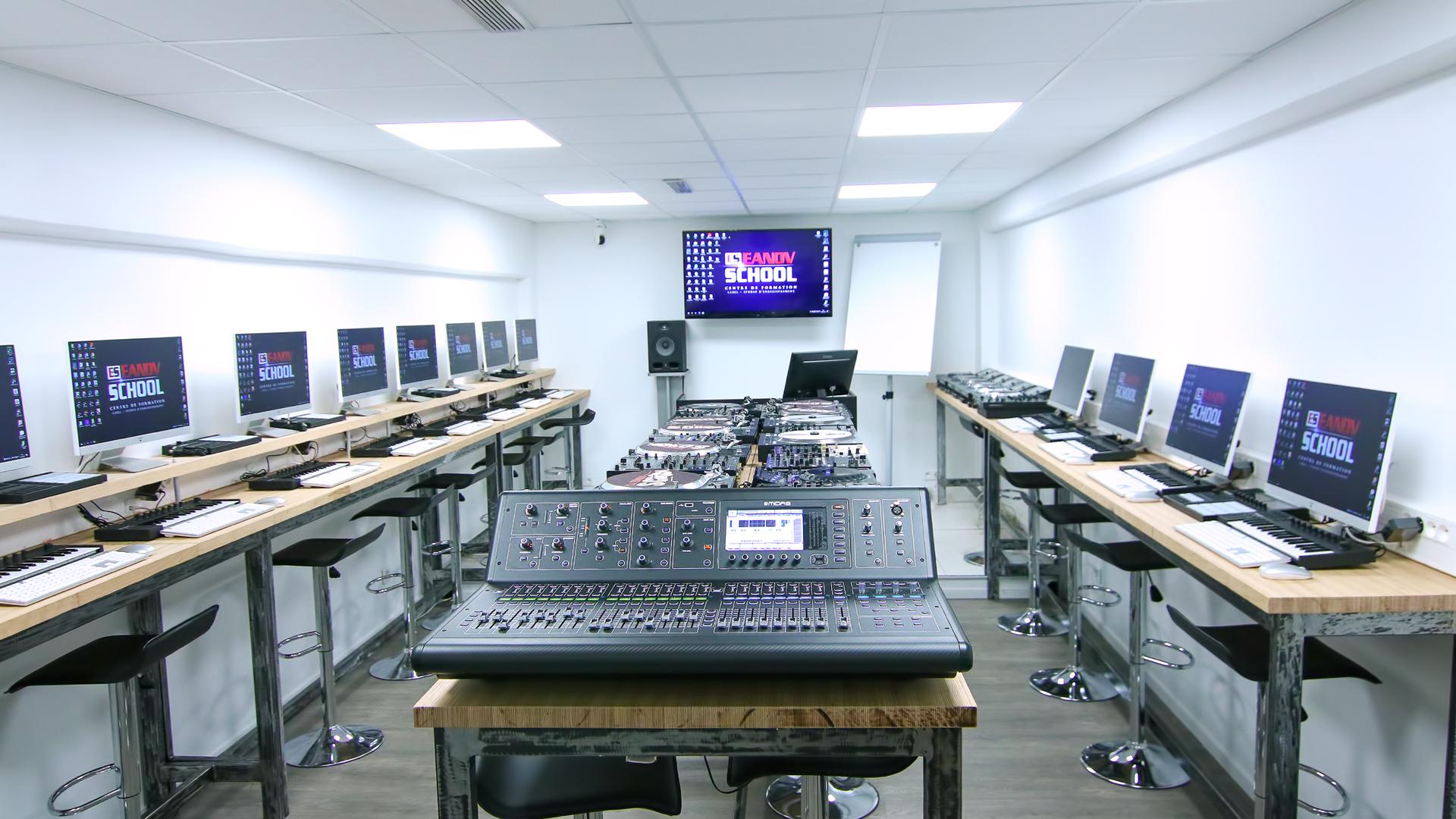 """Nouvel espace de Travail à EANOV SCHOOL """"LIVE PERFORMANCE"""""""