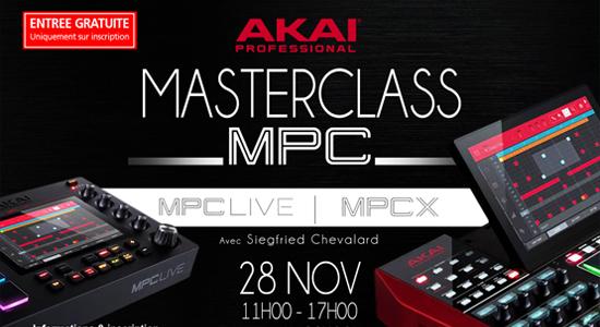 Masterclass AKAI MPC LIVE - MPC X