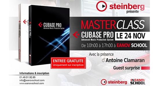 Masterclass CUBASE PRO 10