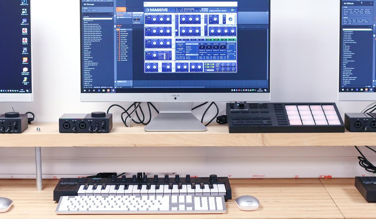 Nouveau poste MAO dans Notre Salle Live Performance 20 Stations de Production Live