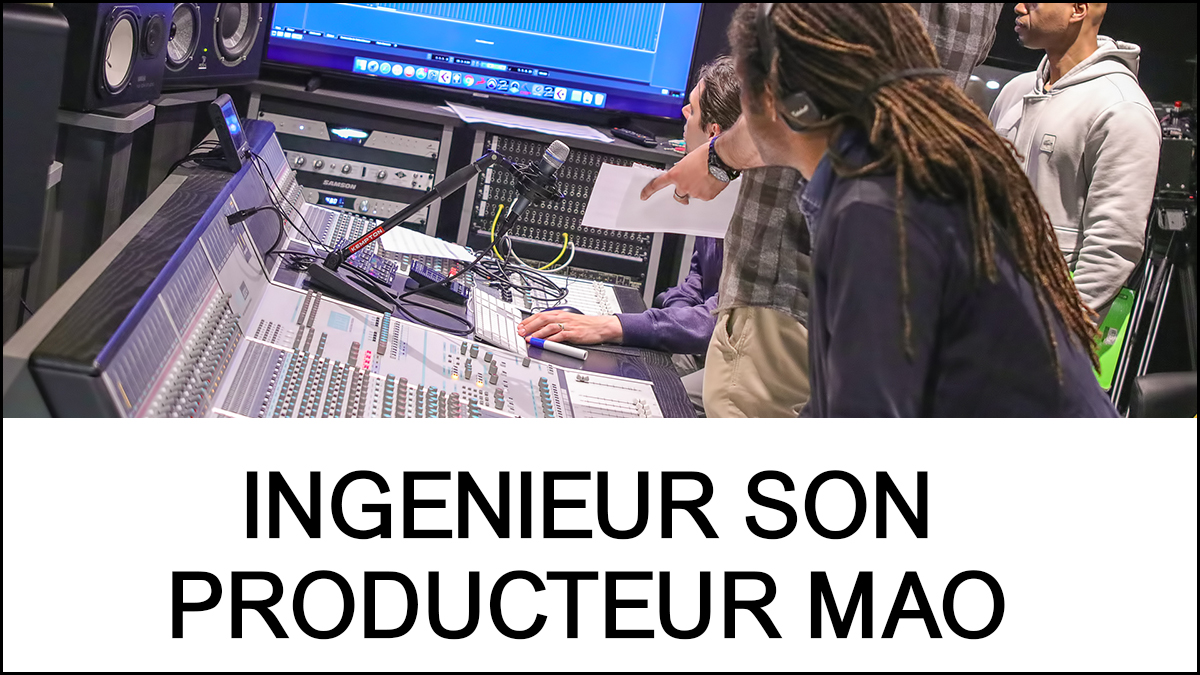 ingenieur son - producteur mao - eanov school