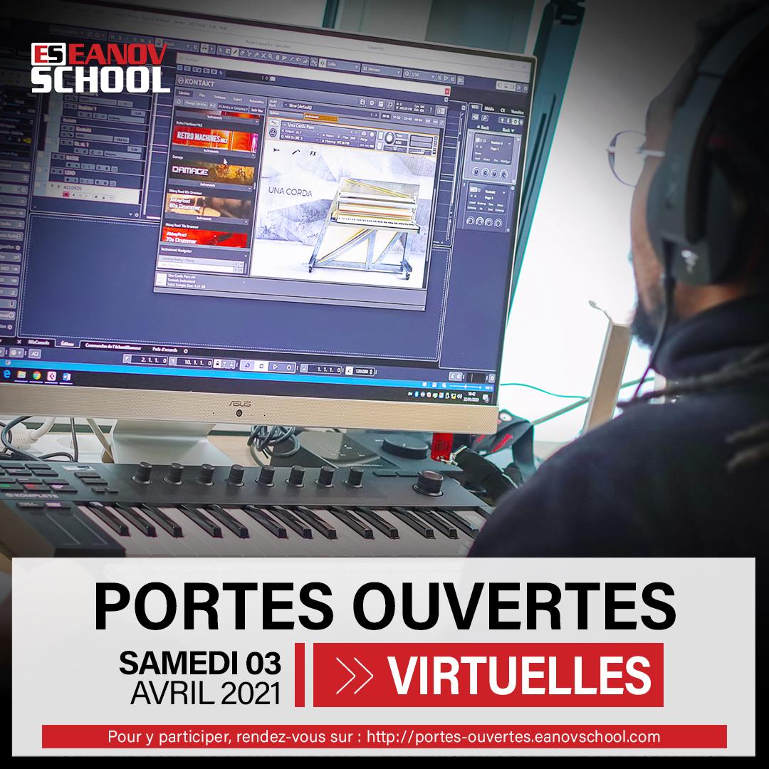 Portes Ouvertes Virtuelles Eanov School